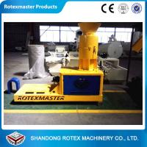 China Stalk wood pellet press machine 1650*800*1350mm , Yellow Blue White wholesale