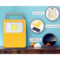 Quality Super Bright Waterproof 18650 Battery Solar Powered USB 10W 20W Portable for sale
