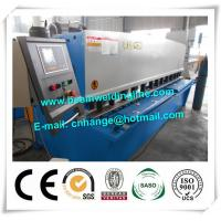 Buy cheap QC12Y Swing Hydraulic Shearing Machine For Steel Plate , Hydraulic Shear Cutter from wholesalers