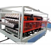 Quality PVC Glazed Roof/Spanish Roof Sheet production Line/PVC Sheet Extrusion Line for sale