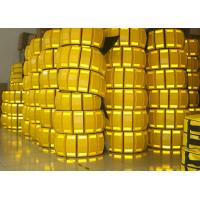 China 3 Meters Temporary Speed Bumps PP Material Double Sides Reflective wholesale