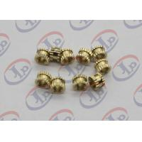 Buy cheap CNC Lathe Machine Parts,Brass Plastic Inserts With M5 Internal Thread from wholesalers
