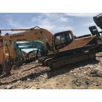 China 21 Tonnage Hyundai R215LC-9  Second Hand Excavators With Water Coolant Engine & A/C Cab wholesale