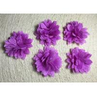 China 2 Small Pretty Daisy Handmade Fabric Flower Brooch Artificial Flower Flower Corsage Back Without Pin on sale