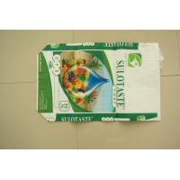 China Biodegrable Plastic Packaging PP Woven Bags Flexo Printing For Flour Rice Sugar wholesale