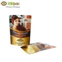 China Resealable Coffee Sack Bags , Gravure Printing Coffee Bean Packaging Bags wholesale