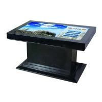 China 42inch special and creative horizontal black / white / silver display lcd floor stand Lobby Kiosk wholesale