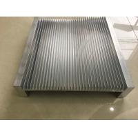 China 6061 Alloy CNC Milling Large Aluminium Heat Sink Profiles 300MM Width wholesale