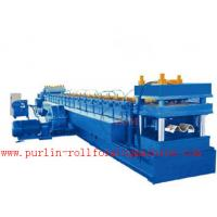 China 4mm Thickness Guardrail Forming Machine For Making Highway Barrier According to ANSI wholesale
