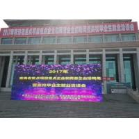 China P8 640 * 640 MM Outdoor Led Screen Hire 6500 Nits Die - casting Aluminum wholesale