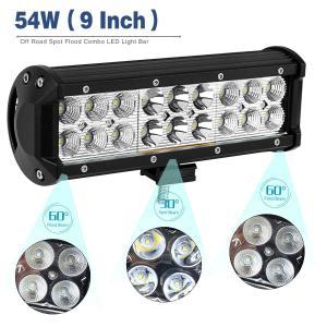 China Black 10 - 30V DC Auto LED Mini LED Light Bar , Dustproof Cree LED Work Light Bar wholesale