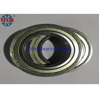 China 19mm Steel Covered Sealed Bearings Low Friction For Heavy Duty Conveyor Roller on sale