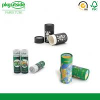 China Cylinder Food Packaging Tubes 100% Eco Kraft Well - Sealing Damp - Proof wholesale