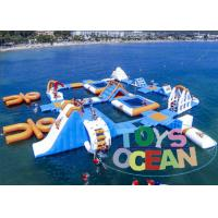 China New  Inflatable Sea Water Play Equipment 0.9PVC Commercial Rental wholesale