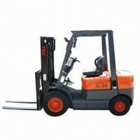 China Diesel Forklift with Loading Capacity of 2.5T wholesale