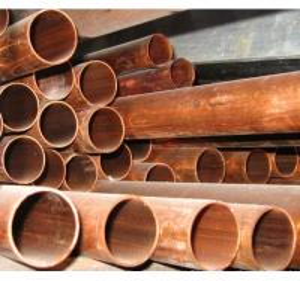 China Nonferrous Metals Round Copper Pipe / Tube For Oil Transportation wholesale