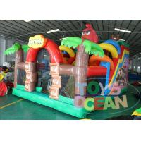 China Inflatable Angly Brids Inflatable Bouncer Combo House 2 Years Warranty wholesale