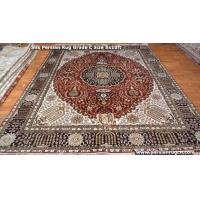 China Persian style handmade silk carpet on sale