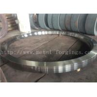 Quality Max OD 5000mm A350 LF3 LF6 Carbon Steel Forged Rings Rough Machined Q+T Heat for sale