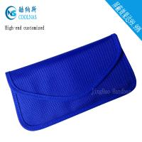 Quality Custom RFID Travel Bags , Credit Card Protector Wallet 19.5*9 Cm for sale