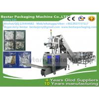 China screw fitting counting and packing machine, screw fitting pouch making machine with 7 vibration bowls wholesale