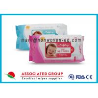 China Baby Wet Tissue Wipes / Individual Flushable Moist Wipes for Travel wholesale