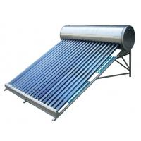 China low cost & low pressure solar water heater wholesale
