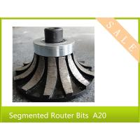 """Wholesale Segmented Router Bits A20(3/4"""")  for Portable Router Edge Profiling Machine (5/8""""-11) from china suppliers"""