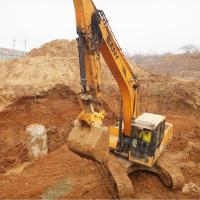 Quality Excavator Mounted Hydraulic Quick Coupler For Connecting Excavator Attachments for sale