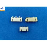 China 2.50mm pitch shrouded header wire to board connector single row vertical type wafer connector wholesale