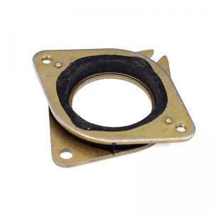 China Brass Rubber Stainless 51.8*51*6mm Nema 17 Vibration Pad 42 Stepper wholesale