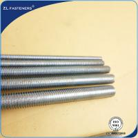 China Eco Friendly High Tensile Threaded Rod Carbon Steel / Stainless Steel Material wholesale