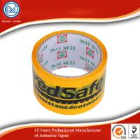 China black and yellow PVC underground detectable warning tape for hazard warning wholesale