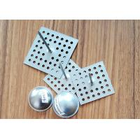 China SS Perforated Base Insulation Anchor Pins, Insulation Hangers With Dome Caps wholesale