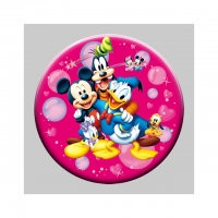 China Decoration Gift 3D Lenticular Badges With Elsa And Anna Princess wholesale
