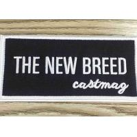 China Custom embroidery patches and badges self adhesive label for garment bag shoes wholesale