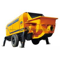 China Hydraulic Concrete Pump , Concrete Stationary Pump 1400mm Filling Height wholesale