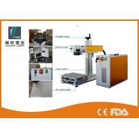 50000 Hours Long Life Air-Cooling Jewelry Laser Marking Fiber Machine For Date / Numbers
