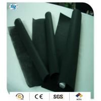 Quality Smooth Black Bamboo Charcoal Fabric Spunlace Nonwoven 35gsm - 85gsm for sale