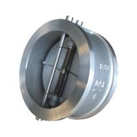 China API 594 API6D Cast Steel Wafer type Double Disc Swing Check Valve wholesale