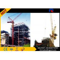 Quality Luffing Jib Tower Crane Boom Length 50m With Electric Switch Box for sale