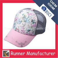Wholesale Wholesale Mesh Baseball Cap for Girls from china suppliers