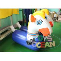 China Racing Inflatable Bouncy Horse Jumping Horse Bouncer Air Tighted wholesale