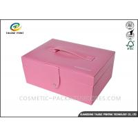 China Multifunctional Leather Packaging Box CMYK Color Printing OEM ODM Accepted wholesale