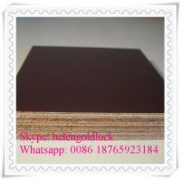 China High Quality Film Faced Plywood with Cheap Price for Building wholesale
