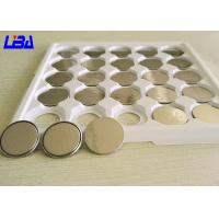 China Audio Equipment High Capacity 3v Coin Battery , Durable 1.7g Cr2016 Watch Battery wholesale