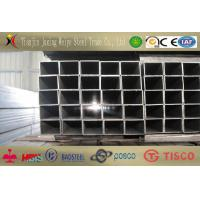 China Q345 SS400 Rectangular Steel Tube / Structure Pipe With Steel Beams wholesale