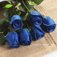 China GNW FLS03-1 Preserved Flower Wedding Gifts for guests Artificial Blue Rose Flower on sale