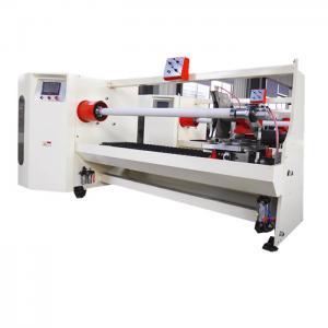 China Double Sided Pe Foam 1300mm Adhesive Tape Cutting Machine wholesale