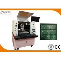 China None Touch Depaneling Solution Dual Table PCB Laser Cutting Machine wholesale